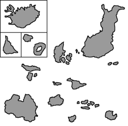 Location of Seal Islands
