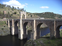 Alcantara Bridge.
