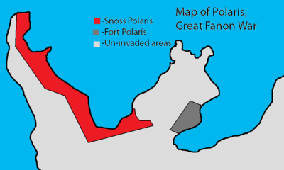 A map of Polaris during the war.